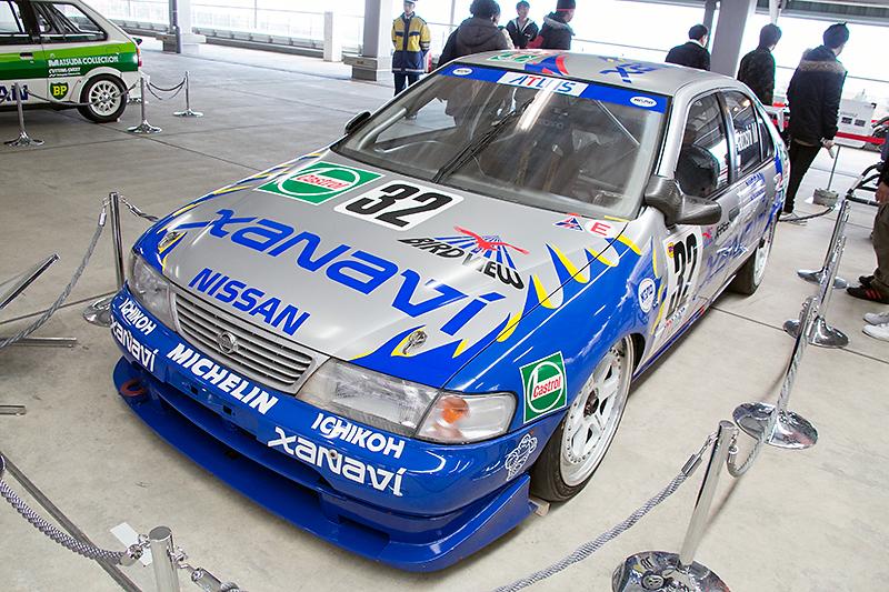 1996年のJGTCに参戦したザナヴィ・サニー(B14型)