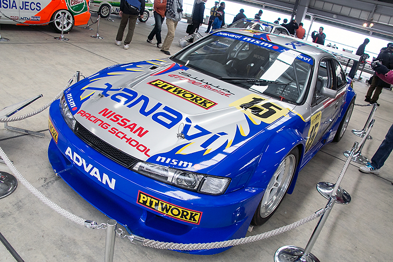 1998年のJGTC GT300クラスに参戦したザナヴィ・シルビア(S14型)