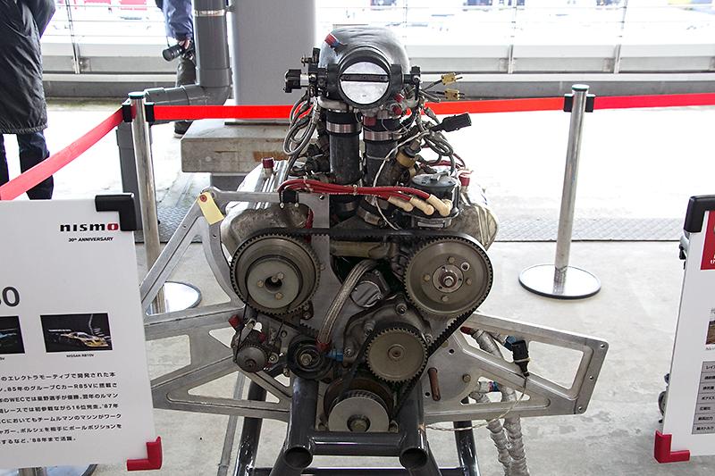 R85Vに搭載されたVG30