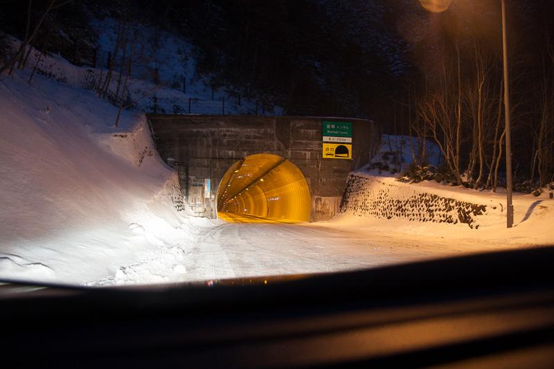 金精トンネルに到着。こちらは群馬県側
