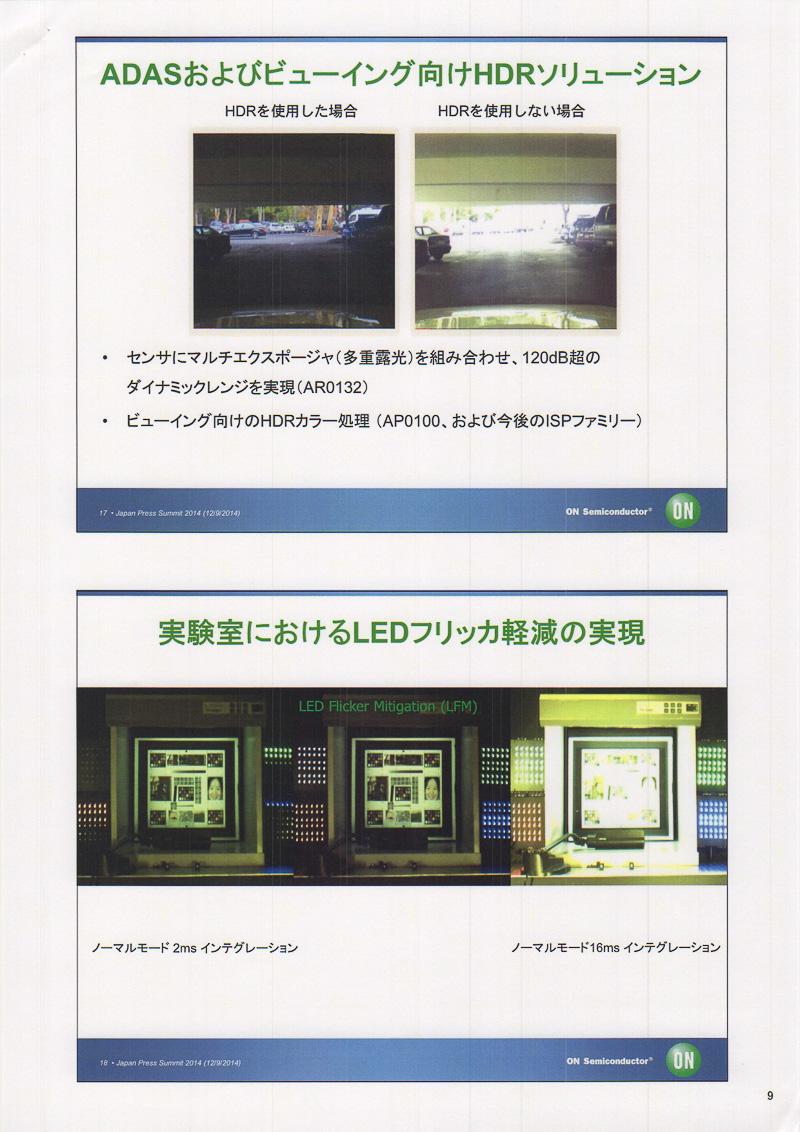 イメージセンシングカメラが持つ現在の課題。オン・セミコンダクターの新しいモジュールではそれぞれに対応できているとのこと