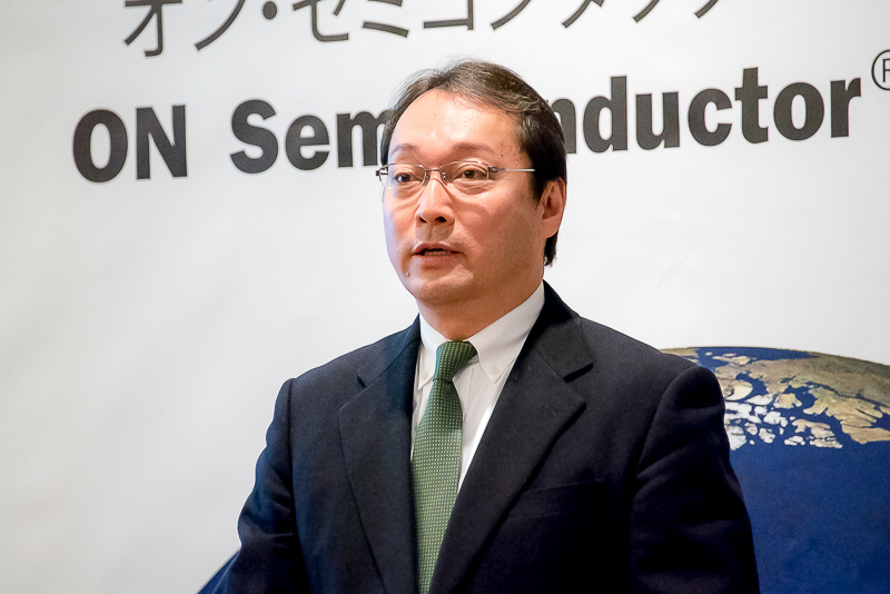 オン・セミコンダクター 代表取締役 雨宮隆久氏