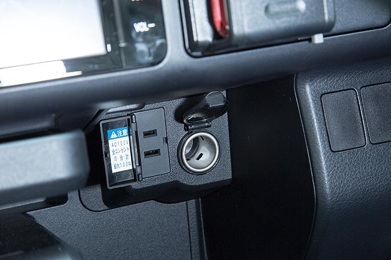 VSCやUSB電源コネクタなど今の時代に求められる装備も加わった