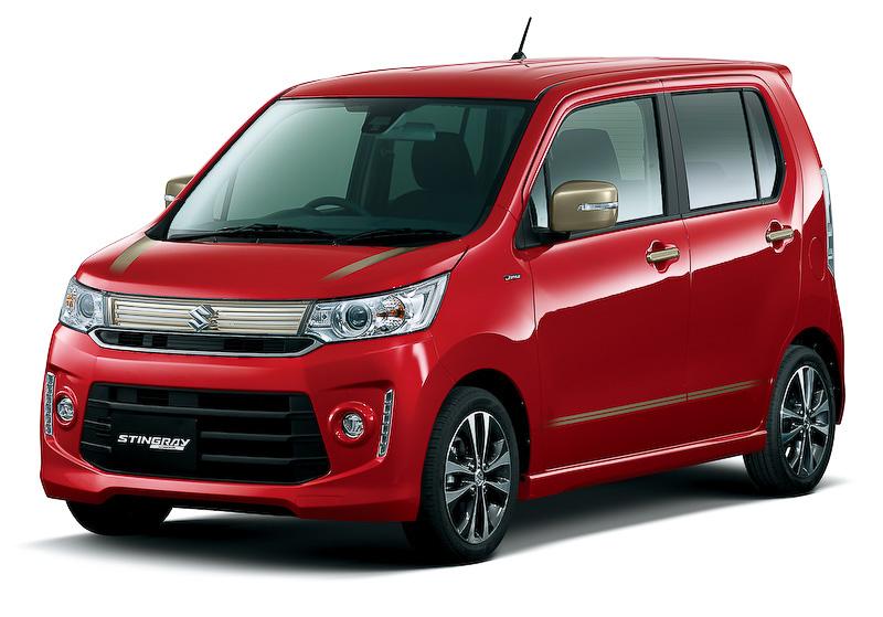 日本をテーマに、和のデザインの華やかなゴールド加飾を内外装に採り入れた特別仕様車(写真はワゴンRスティングレー「J STYLE」)