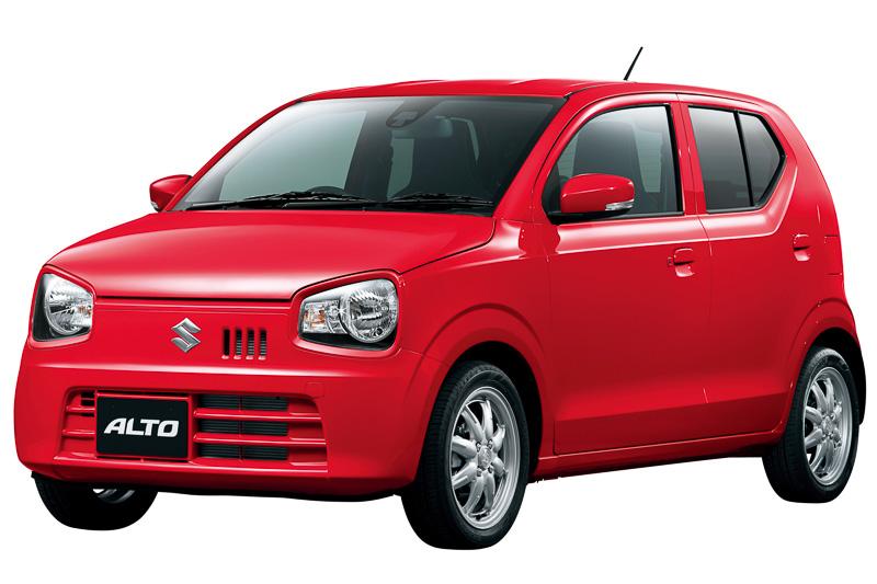 ガソリン車No.1の燃費37.0km/Lを達成した新型軽自動車「アルト」