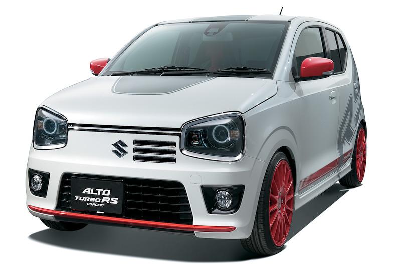 新型「アルト ターボRS」をベースに、エキサイティングな走りを追求した「新型アルト ターボRS コンセプト」