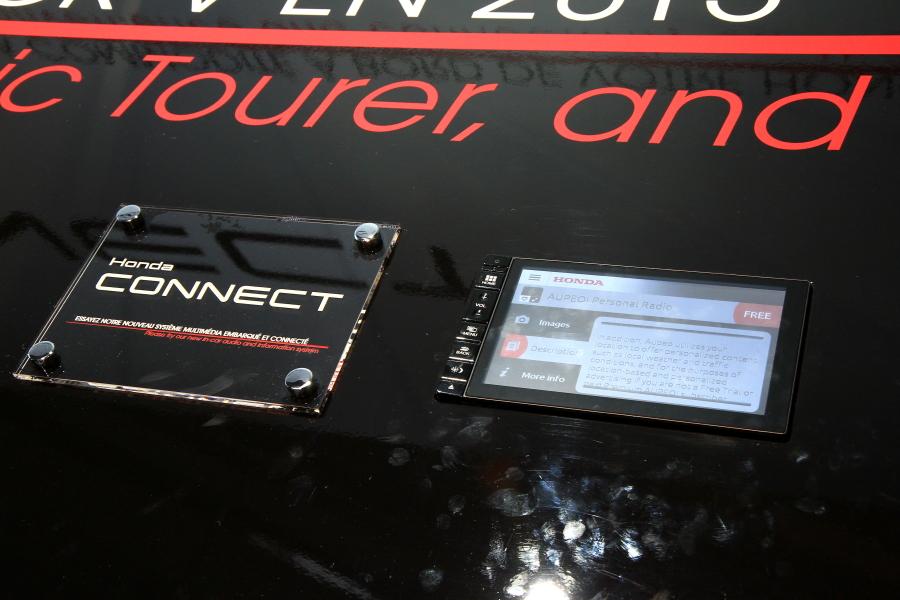 NVIDIAのTegra 3を採用したホンダの新しいインフォテイメントシステム「ホンダ・コネクト」