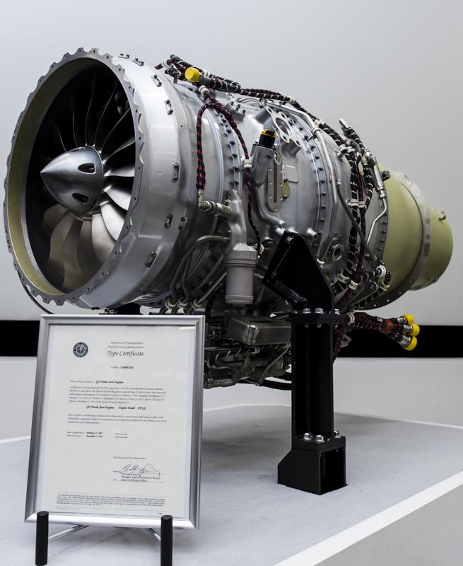 Honda Jetに搭載される「HF120」エンジン。このエンジンに関する説明会が開かれた