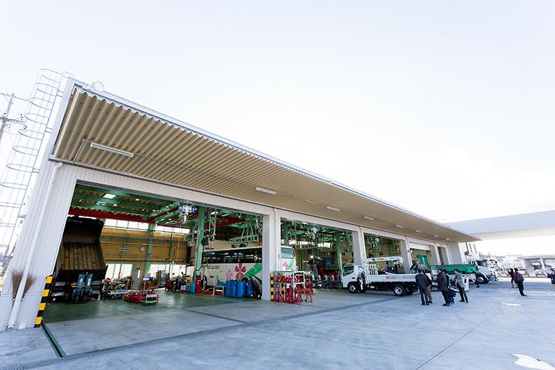 11月20日にリニューアルオープンした東北ふそう いわき支店