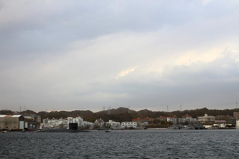 やっぱり海はいい、CICにいると息が詰まる。と、思わず台詞を口走ってしまう景色