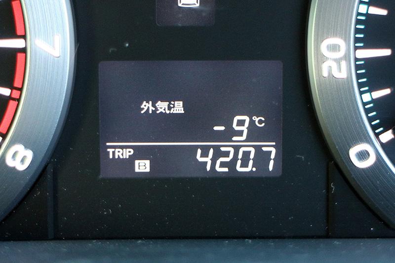 この日も気温は低い。空気が乾燥しているので寒さはそれほど感じられないと言いたいところだが、寒いものは寒い