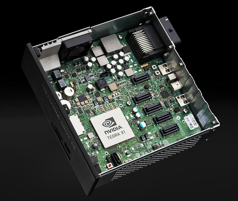 IVI・デジタルコクピット向けの「DRIVE CX」。Tegra X1を1基搭載