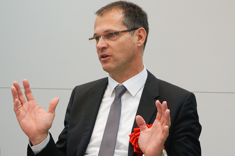 フォルクスワーゲン 電子・電装開発部門担当専務 フォルクマル・タンネベルガー氏