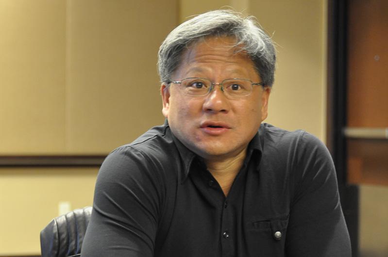 NVIDIA 社長兼CEOのジェンスン・フアン氏