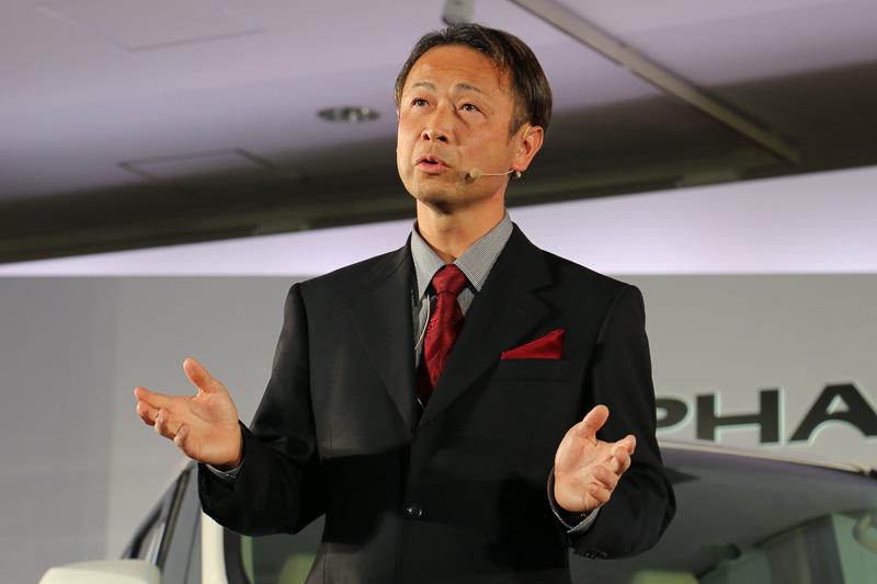 トヨタ自動車 製品企画本部 主査 吉岡憲一氏