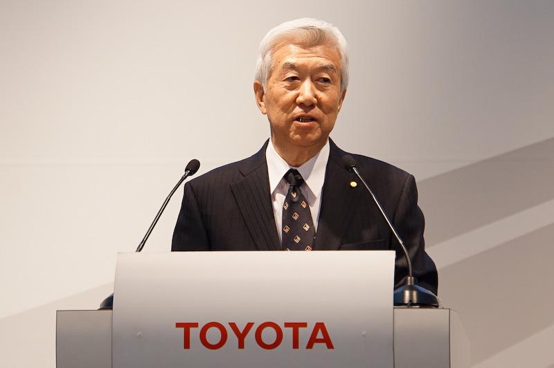トヨタ自動車 取締役副社長 加藤光久氏