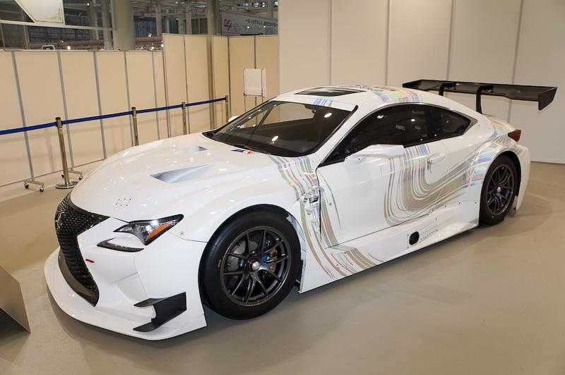 トヨタがFIA-GT3規格のレーシングカーとして提供開始するRC F GT3。SUPER GT GT300クラスにLM corsaチームから参戦する
