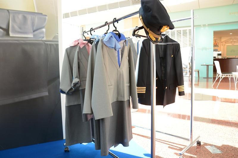 用意された子供用の新制服衣装