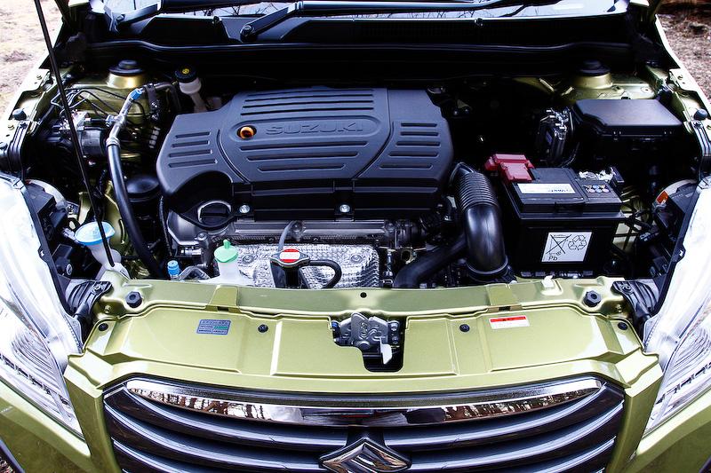 エンジンは直列4気筒DOHC 1.6リッターのVVT付き「M16A」型を搭載し、最高出力は86kW(117PS)/6000rpm、最大トルクは151Nm(15.4kgm)/4400rpmを発生