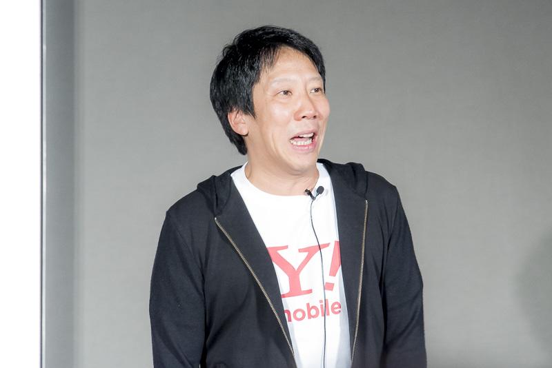 ワイモバイル 代表取締役社長兼 CEO エリック ガン氏