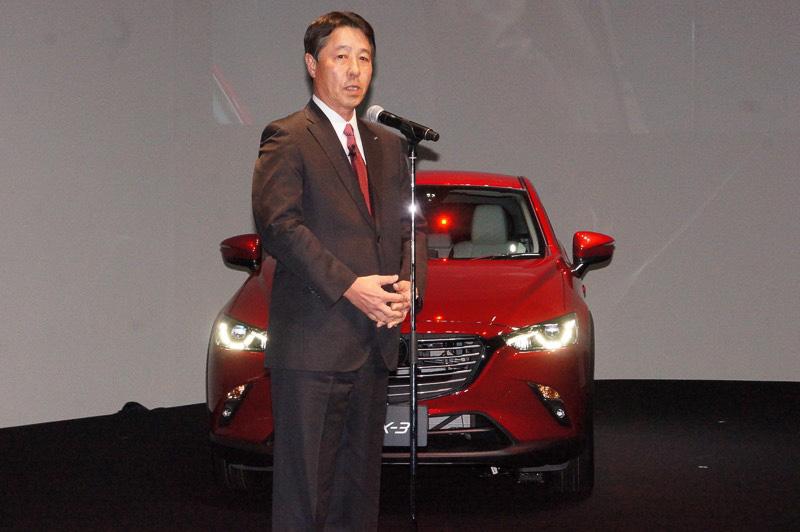 マツダ 代表取締役社長兼CEOの小飼雅道氏