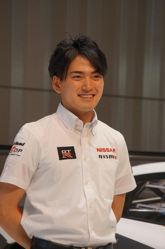 ブランパン耐久シリーズ、ニュル24時間レースに参戦する千代勝正選手