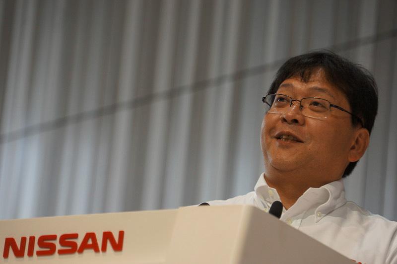 ニッサン・モータースポーツ・インターナショナル代表取締役最高執行責任者の松村基宏氏