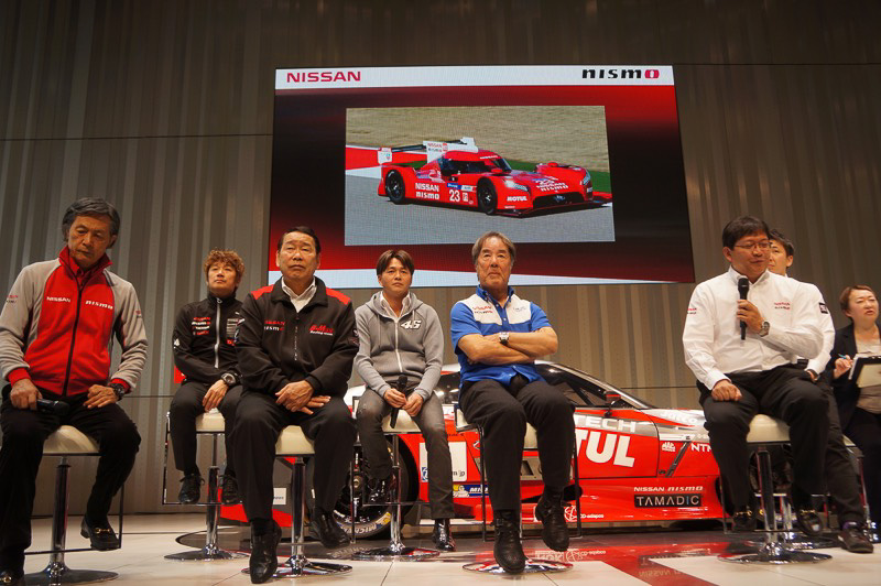 SUPER GTの監督やドライバーが参加するトークイベントも開催された