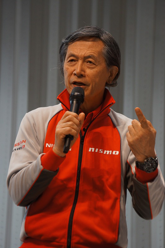 SUPER GT GT500クラスの日産系チームの総監督を務める柿元邦彦氏
