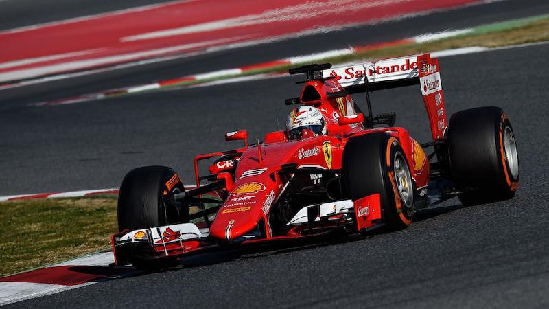 フェラーリ「SF15-T」