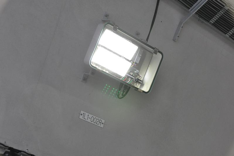 LED照明を採用