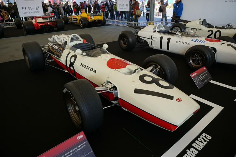 ホンダRA300、1966年のイタリアGPで優勝した時の車両、ドライバーはジョン・サーティース