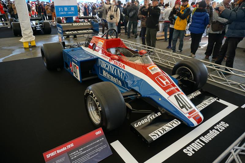 スピリット・ホンダ 201C、第2期に復帰したときの最初のマシン。ドライバーはステファン・ヨハンソン