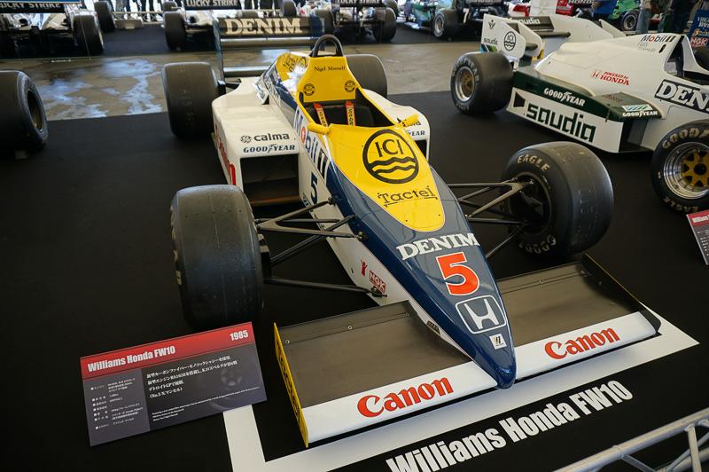 ウィリアムズ・ホンダ FW10、1985年はケケ・ロズベルグとナイジェル・マンセルで4勝を挙げたシーズン