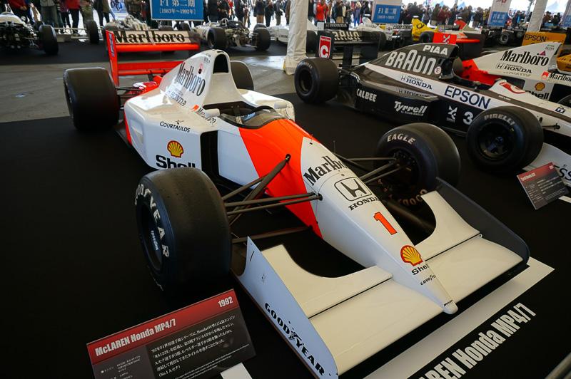 マクラーレン・ホンダ MP4/6は1992年の車両、第2期最後のマシンで、ドライバーはアイルトン・セナとゲルハルト・ベルガー