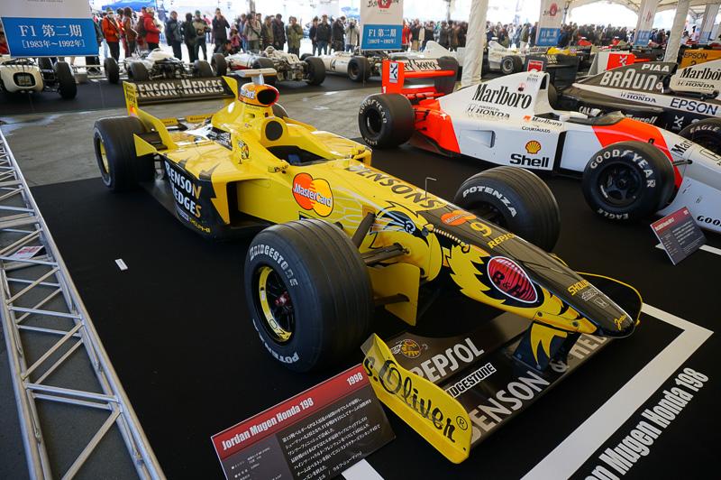 ジョーダン・無限ホンダ 198は1998年の車両で、この年のベルギーGPでデーモン・ヒルが優勝
