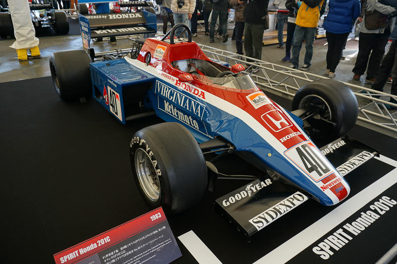 第2期F1参戦初期の車両