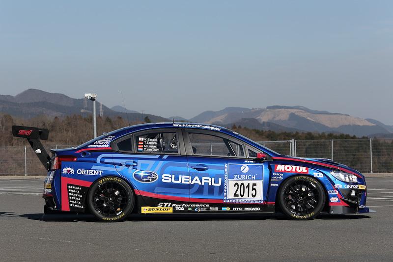 WRX STI 2015年ニュル24時間レース参戦車輌