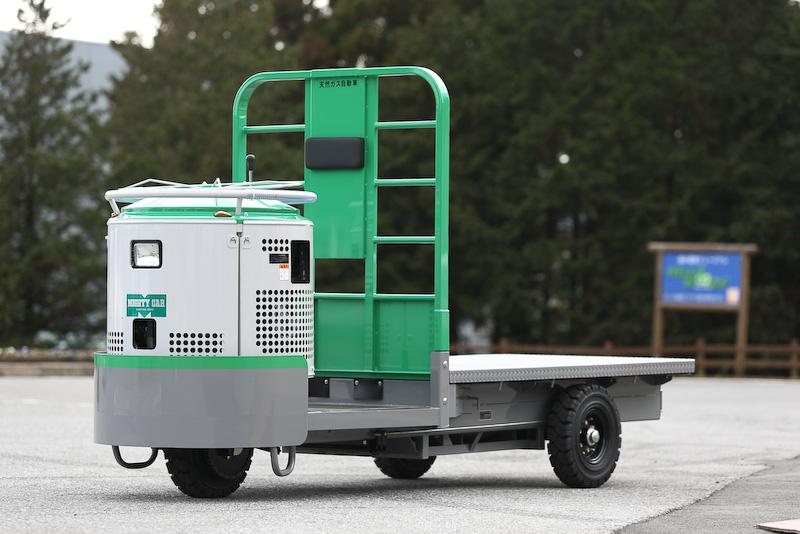 ターレット式構内運搬自動車「マイテーカーV3 CNG」