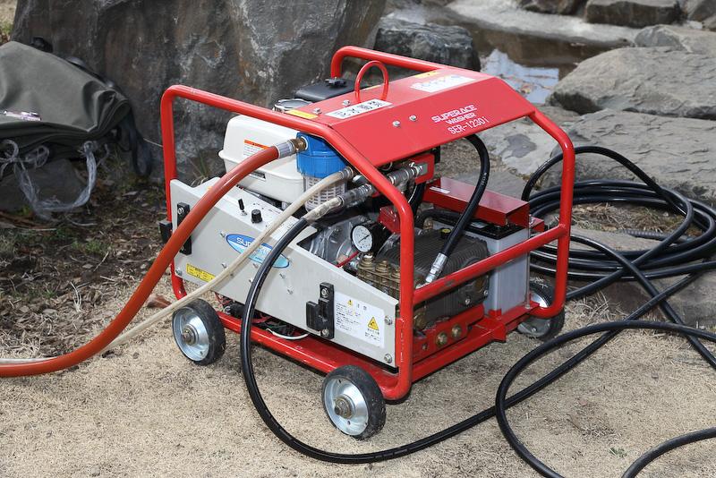 超高圧洗浄機「SER-1230i」