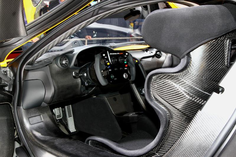 サーキット専用モデル「マクラーレン P1 GTR」