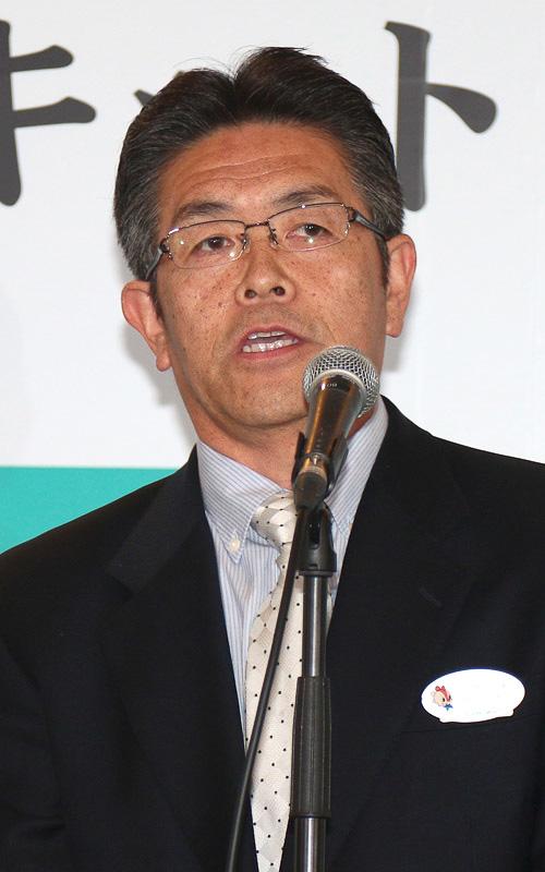発表会に出席した鈴鹿サーキット総支配人の荒木正和氏