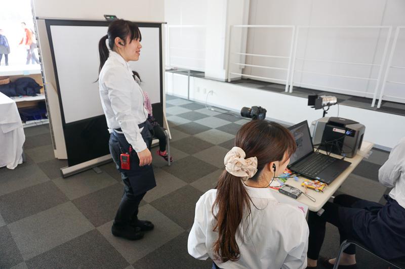 イベントは鈴鹿サーキットの女性社員が企画、運営を行った