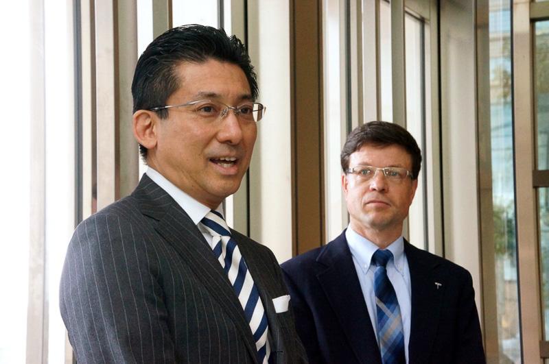 パレスホテル東京 総支配人の渡部 勝氏