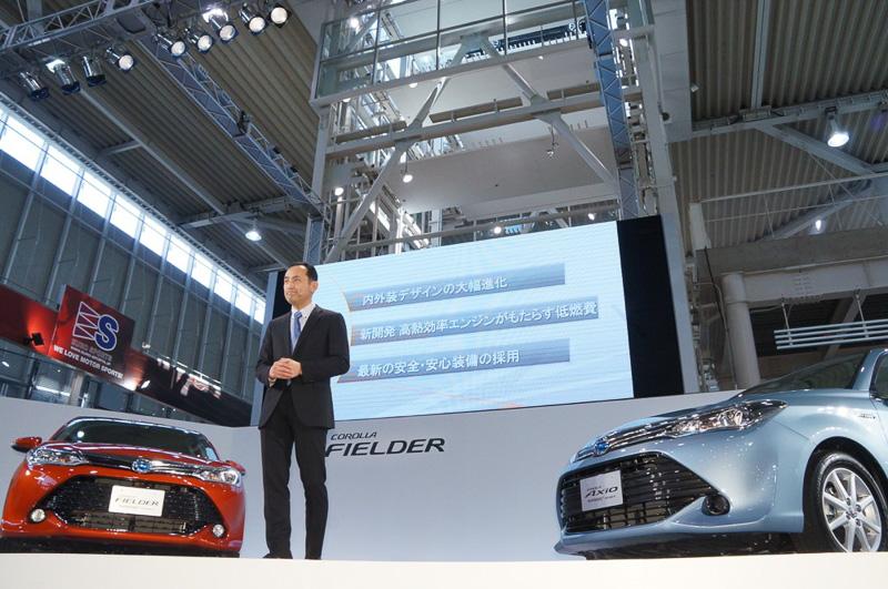 「内外装デザインの大幅進化」「新開発高効率エンジンがもたらす低燃費」「最新の安全安心装備の採用」が、マイナーチェンジにおける3つのポイント