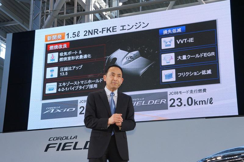 1.5リッターの2NR-FKEエンジンを新開発