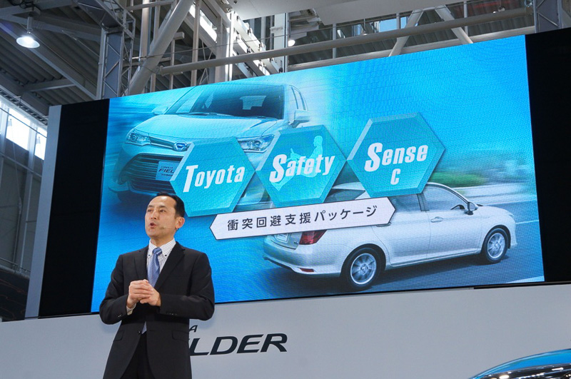 「Toyota Safety Sense C」を初搭載