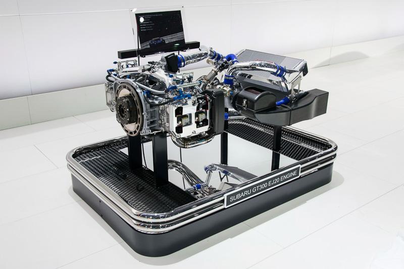 SUPER GT用EJ20型エンジン