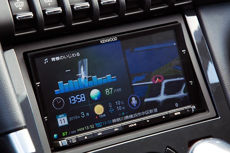 2015年モデルのフラグシップカーナビ、彩速ナビ MDV-Z702