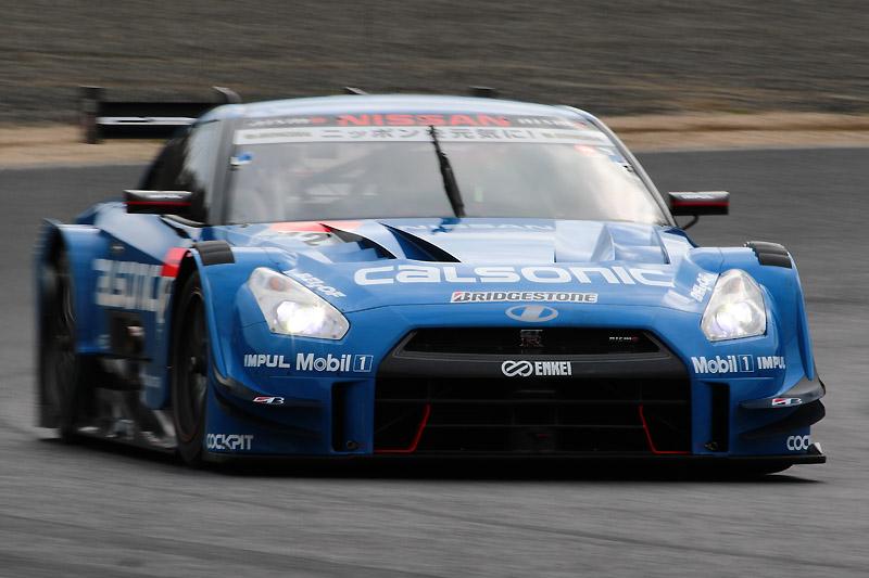 12号車カルソニック IMPUL GT-R(安田裕信/J.P.デ・オリベイラ)は、車両火災はあったもののマシンを修復し、予選6位を獲得。決勝に期待がかかる